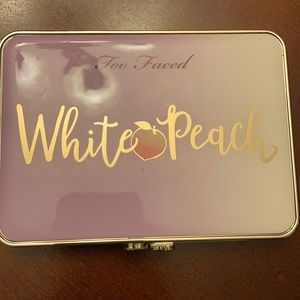 Gently used and sanitized Too Faced White Peach